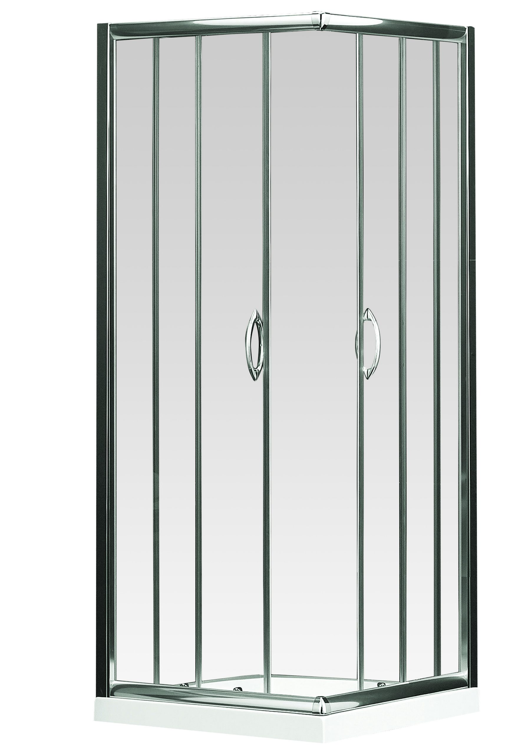 Euro Corner Entry Shower Screen