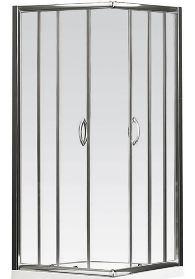 Euro Corner Entry Shower Screen - Rick Mcleans Designer Bathware