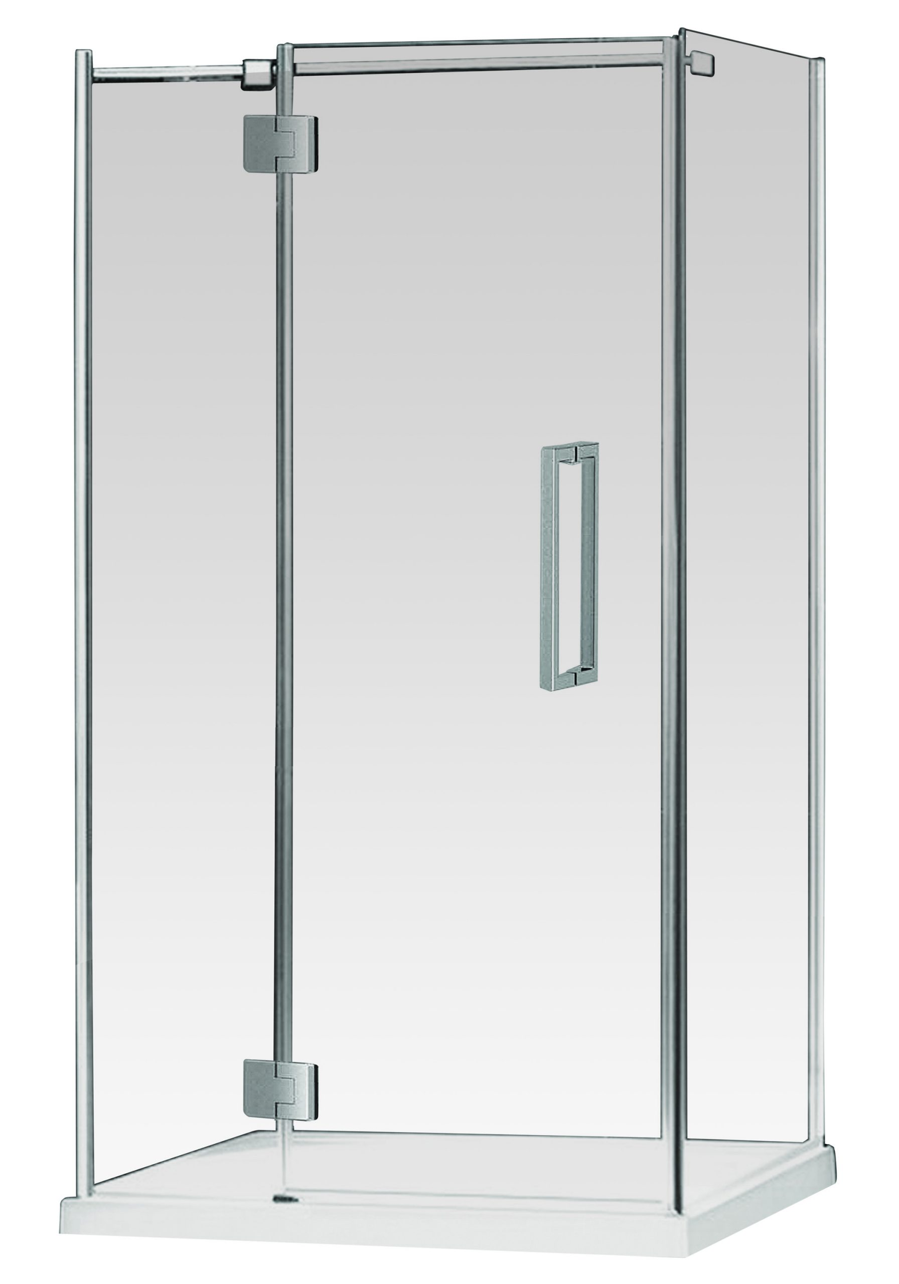 Euro Frameless Hinged Shower Screen