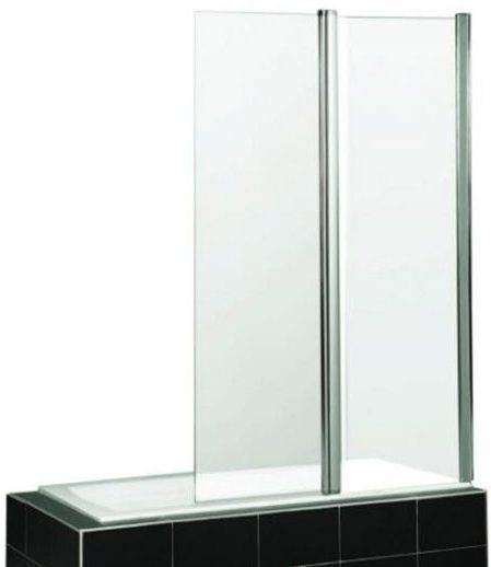 Semi Frameless Fix & Swing Bath Screen M2