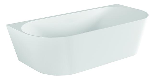 Modern Back to Wall Bath
