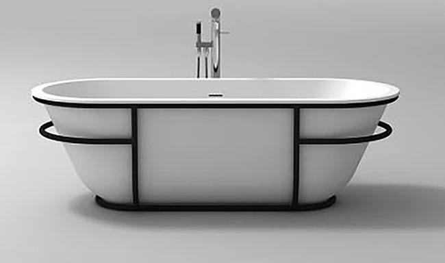 The Brooklyn Solid Surface Bath