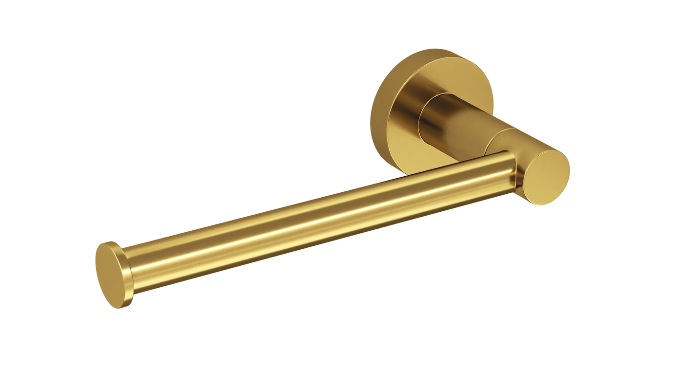 Toilet Roll Holder Gold