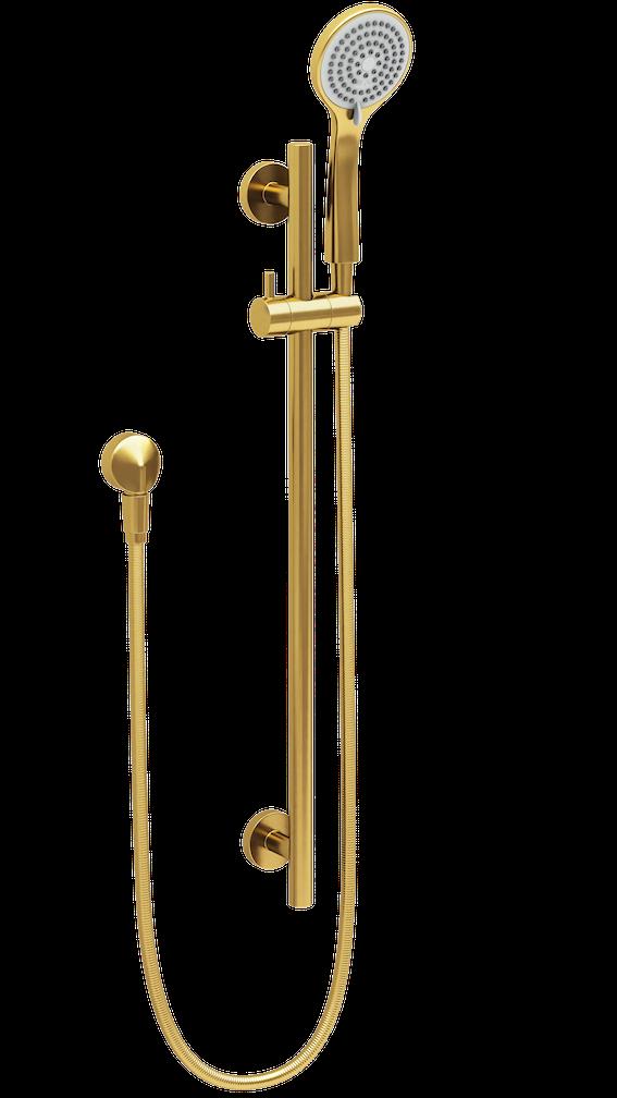 Shower on Rail Gold