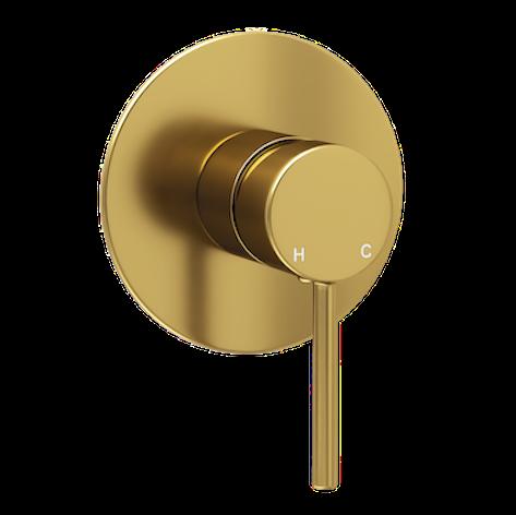 Wall Mixer Gold